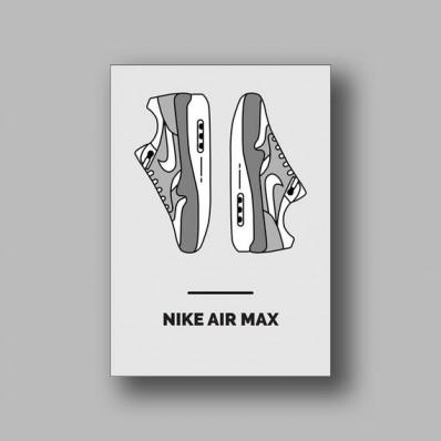 affiche air max 1