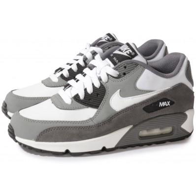 air max 90 blanc gris