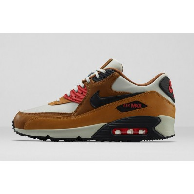 air max 90 cuir marron