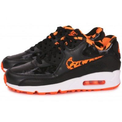air max 90 noir et orange
