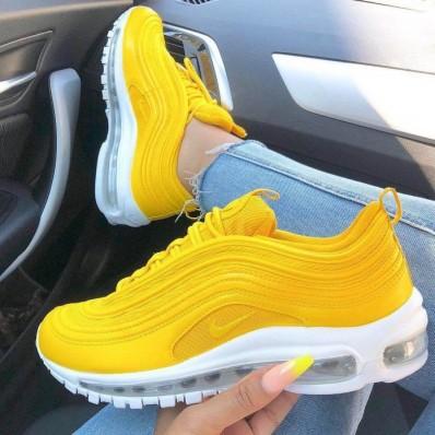 air max 97 femme jaune