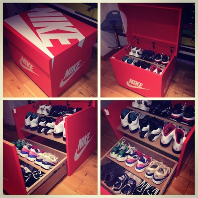 armoire chaussure nike
