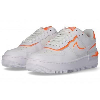 basket nike air force 1 blanche et orange