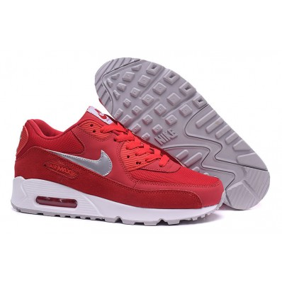 basket nike rouge homme air max