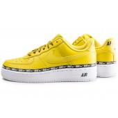 basket nike air force 1 jaune