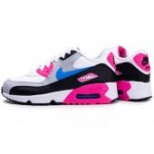 chaussure air max blanc et rose