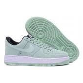 nike air force 1 femme blanche et verte