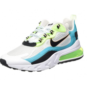 Nike Air Max 270 React Se, Chaussure de Course Homme Oracle Water Negro Green