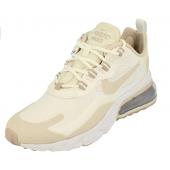 Nike Air Max 270 React Women's Shoe, Chaussure de Course Femme Summit White Lt orewood BRN White
