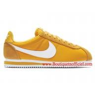 chaussure nike femmes jaune
