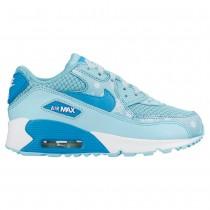 chaussure nike air max fille bleu