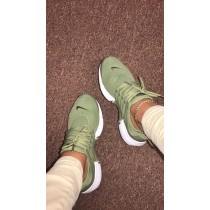 chaussure nike air sneakers verte