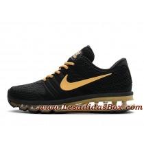 chaussure nike femme noir et or