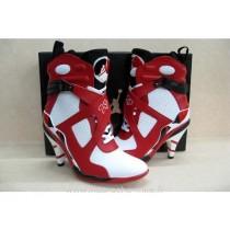 chaussures nike jordan 8 rouge