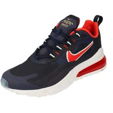 Nike Air Max 270 React, Chaussure de Course Homme Vin rouge marin