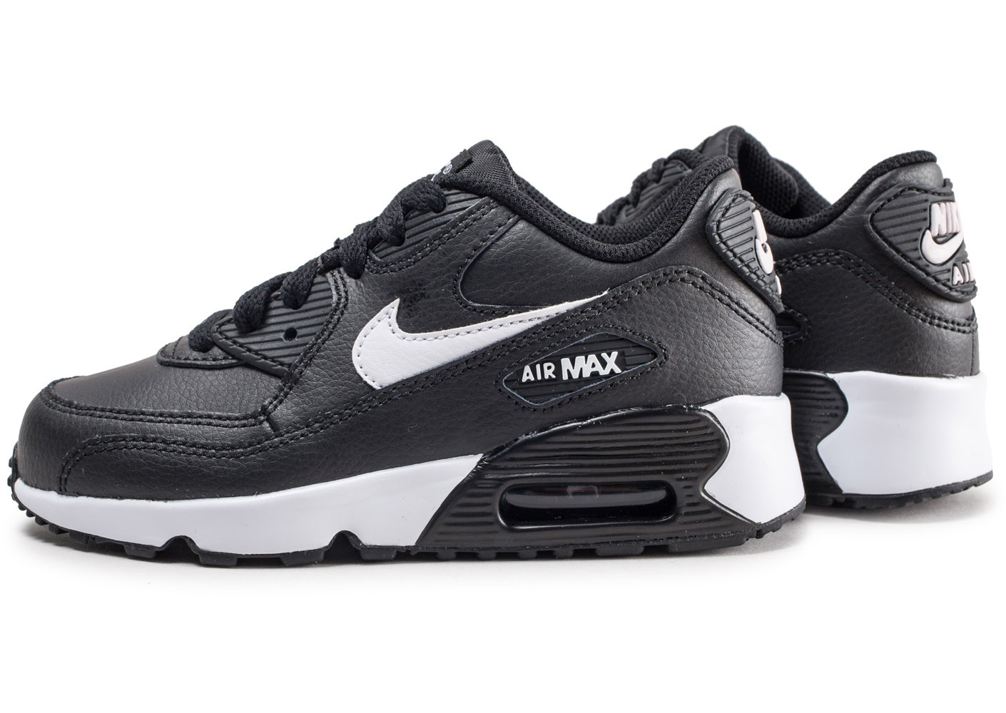 air max 90 leather noir blanc